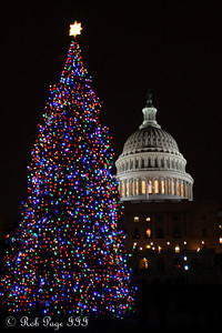 The Capitol - Washington, DC ... December 25, 2010 ... Photo by Rob Page Jr.