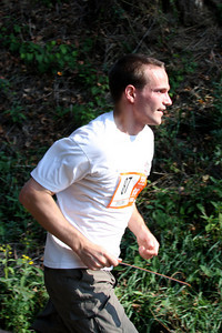 John finishes his first run - DC Ragnar Relay, MD ... September 24, 2010