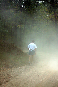 The trail gets dusty at times - DC Ragnar Relay, MD ... September 24, 2010