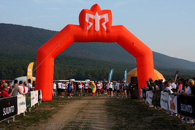 The starting line - DC Ragnar Relay, MD ... September 24, 2010 ... Photo by Rob Page III