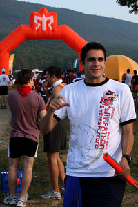 Alex at the starting line - DC Ragnar Relay, MD ... September 24, 2010 ... Photo by Rob Page III