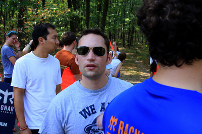 Dan realizes that they're not at the exchange - DC Ragnar Relay, MD ... September 24, 2010