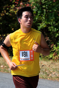 Carlos completes his first run - DC Ragnar Relay, MD ... September 24, 2010
