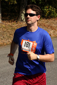 Dermot starts his run - DC Ragnar Relay, MD ... September 24, 2010