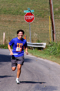 Dalton comes into the second exchange - DC Ragnar Relay, MD ... September 24, 2010