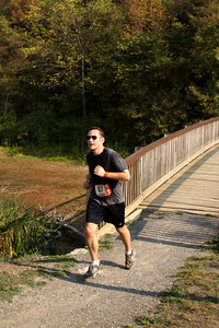 Dan finishes up the first leg - DC Ragnar Relay, MD ... September 24, 2010 ... Photo by Rob Page III