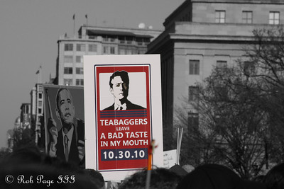 The Sanity Rally - Washington, DC ... October 24, 2010 ... Photo by Rob Page III