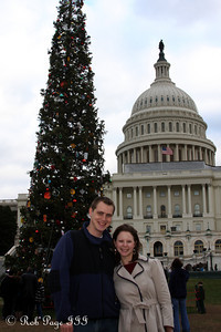 Rob and Emily at the Capitol - Washington, DC ... December 31, 2011 ... Photo by Cliff Meston