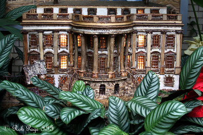 The White House at the Botanical Gardens - Washington, DC ... December 31, 2011 ... Photo by Rob Page III