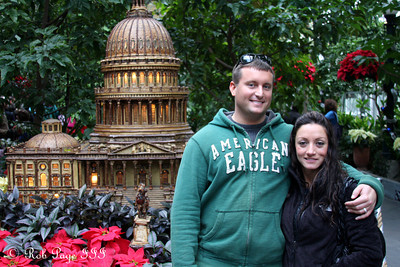 Cliff and Paola at the Botanical Gardens - Washington, DC ... December 31, 2011 ... Photo by Rob Page III