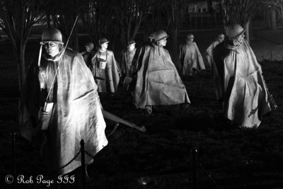 The Korean War Memorial - Washington, DC ... December 31, 2011 ... Photo by Rob Page III