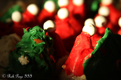 Cake balls for the party - Washington, DC ... December 11, 2011 ... Photo by Rob Page III