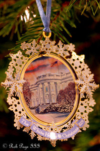 The 2009 White House Ornament - Washington, DC ... December 11, 2011 ... Photo by Rob Page III