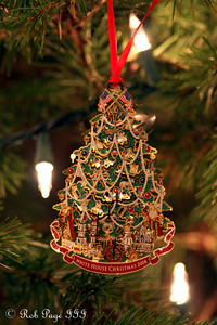 The 2008 White House Ornament - Washington, DC ... December 11, 2011 ... Photo by Rob Page III