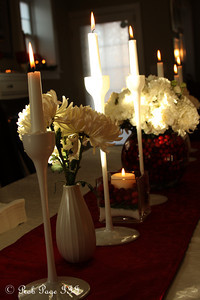 Candles for the party - Washington, DC ... December 11, 2011 ... Photo by Rob Page III