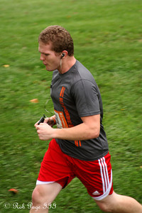 Garret completes his first leg - DC Ragnar Relay ... September 23, 2011