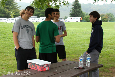 The undergrads strategizing - DC Ragnar Relay ... September 23, 2011