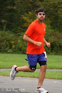 Scott runs his first leg - DC Ragnar Relay ... September 23, 2011