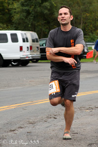 Dan completes his first leg - DC Ragnar Relay ... September 23, 2011