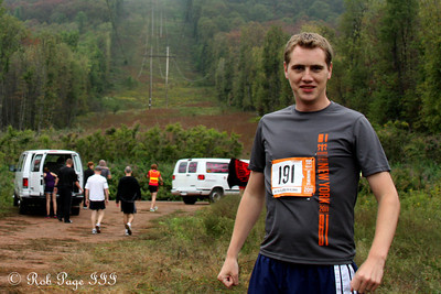 Rob gets ready for his run - DC Ragnar Relay ... September 23, 2011