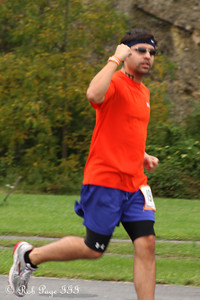 Scott Greenwood starts his first run - DC Ragnar Relay ... September 23, 2011