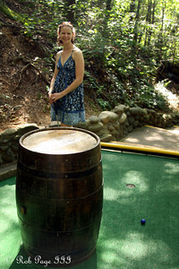 Emily plays some mini-golf - Gatlinburg, TN ... August 2, 2011 ... Photo by Rob Page III