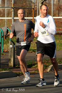Bryan enjoys the 5K - Chalfont, PA ... November 24, 2011 ... Photo by Heather Fairley