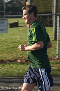 Rob running - Chalfont, PA ... November 24, 2011 ... Photo by Heather Fairley