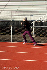 Almost to the finish line - Chalfont, PA ... November 24, 2011 ... Photo by Heather Fairley