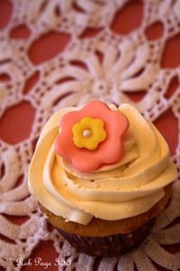 Emily's cupcake at Heather's baby shower - Chalfont, PA ... April 7, 2012 ... Photo by Rob Page III