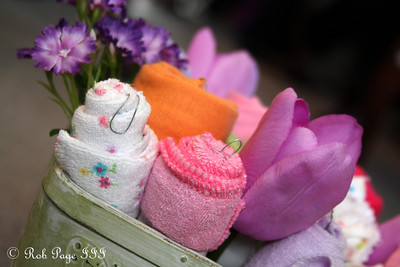 Emily's baby basket for Heather's baby shower - Chalfont, PA ... April 7, 2012 ... Photo by Rob Page III