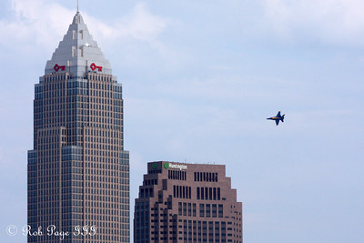 The Blue Angels - Cleveland, OH ... August 31, 2014 ... Photo by Rob Page III