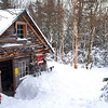 The Harvard Cabin - White Mountain National Forest, NH ... January 29, 2017 ... Photo by Rob Page III