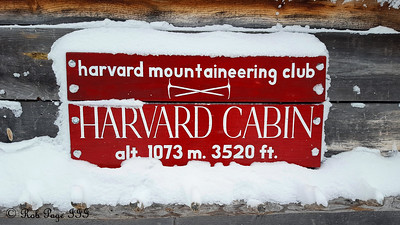 Harvard Mountaineering Cabin - White Mountain National Forest, NH ... January 28, 2017 ... Photo by Rob Page III
