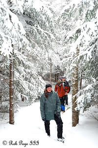 Hiking the Lions Head Trail - White Mountain National Forest, NH ... January 28, 2017 ... Photo by Rob Page III