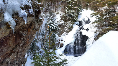 Crystal Cascade - White Mountain National Forest, NH ... January 29, 2017 ... Photo by Rob Page III