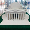 Lego Jefferson memorial (Also with Jefferson Statue on the inside)