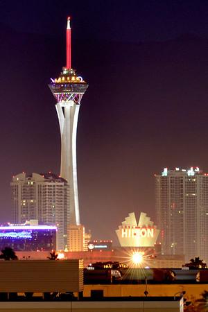News Years Eve  Fireworks Vegas Style 2010