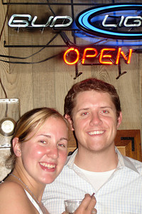 Heather and John at Millie & Al's - Washington, DC ... July 14, 2007 ... Photo by Rob Page III
