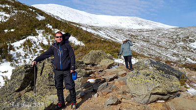 Scott and Heather climbing Mt. Washington - Gorham, NH ... January 27, 2018 ... Photo by Rob Page III