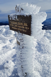 At the summit of Mt. Washington - Gorham, NH ... January 27, 2018 ... Photo by Rob Page III