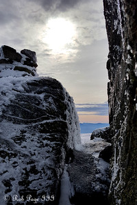 The route to the summit - Gorham, NH ... January 27, 2018 ... Photo by Rob Page III
