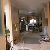 The kitchen during remodelling.
