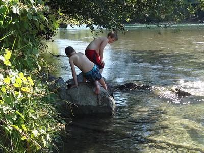 Fun at the Skagit River....