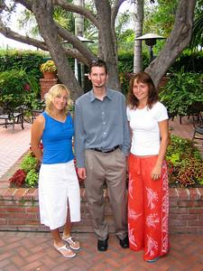Anastasia Rodionova, Alex Tolkachev and Katerina Bondarenko, Newport Beach, CA, 2005