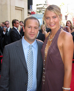Maria Sharapova and her agent Max Eisenbud at the ESPY Awards, Hollywood, 2005
