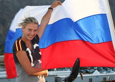 Maria Sharapova wins Indian Wells supertournament in 2006