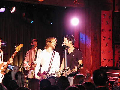 Maroon 5 at Maria Sharapova's 18th birthday party, NYC, 2005