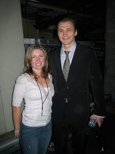 Sergei Fedorov with Jennifer