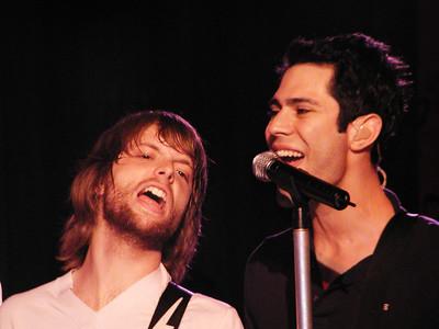 Maroon 5 at Maria Sharapova's 18th birthday party, NYC, 2005